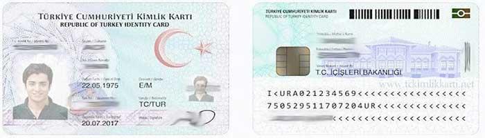 کیملیک کارت اقامت ترکیه