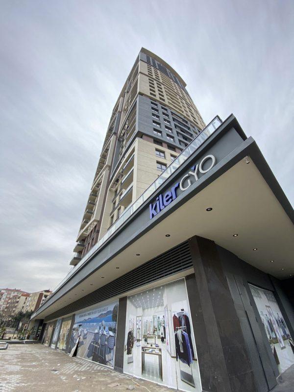 نمای از بالا از پروژه آتالار ترکیه